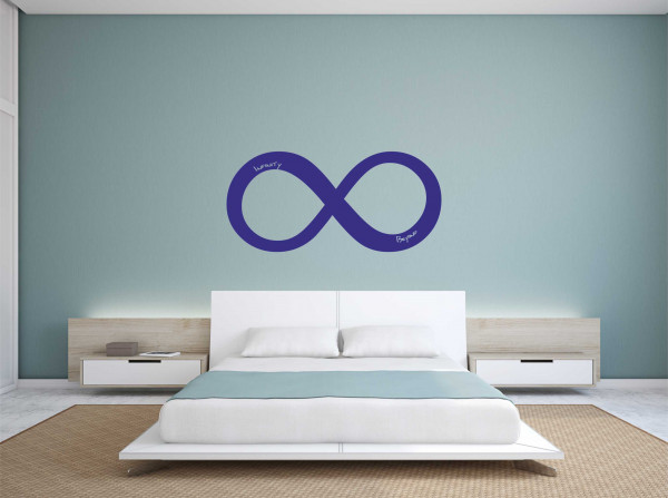 Wandtattoo Infinity & Beyond
