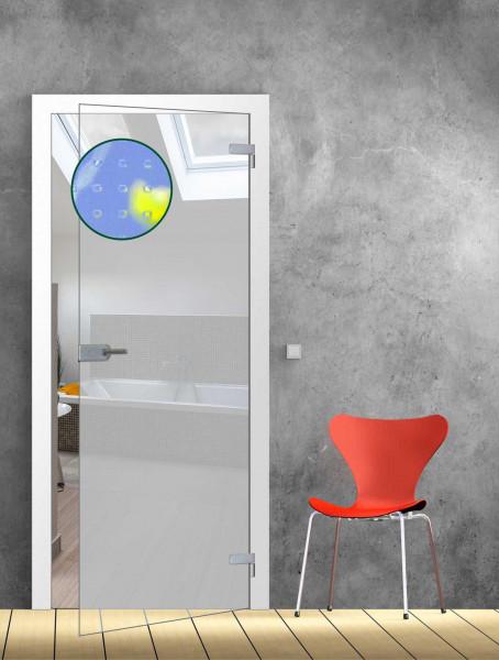 Ganzglastür Mastercarré TB 73,5 - Glasmaß: 709 x 1972 mm