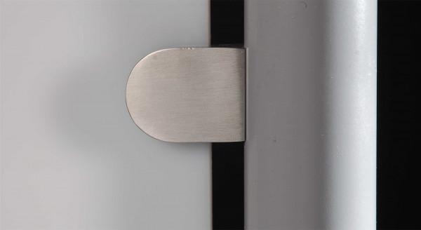 Klemmbefestigung Edelstahl V2A 35 x 28,5 mm