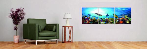 Unterwasserwelt 3-teilig