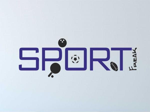 Wandtattoo Sportfreak