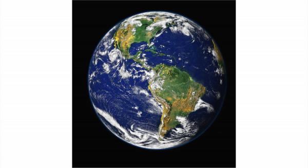 Wandbild EARTH