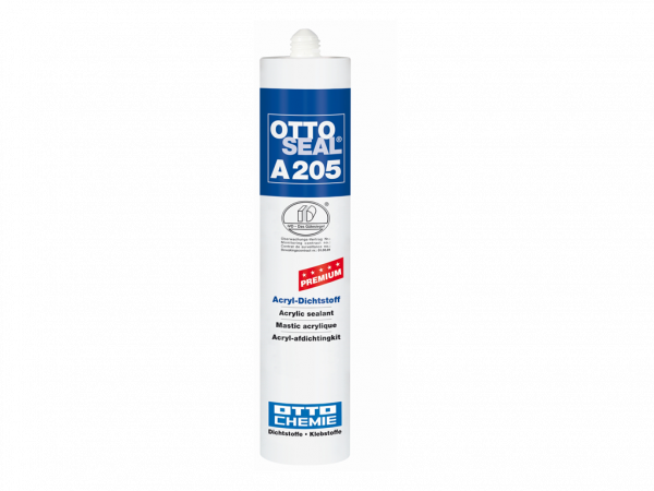 Silikon OTTOSEAL A 205 Premium Acryl Dichtstoff / 310 ml